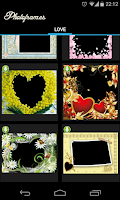 Screenshot of Love PhotoFrames