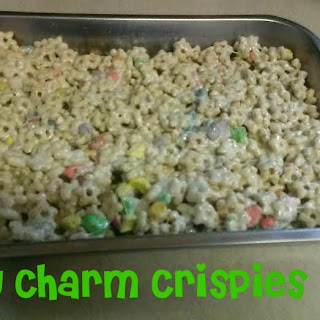 Lucky Charm Crispies