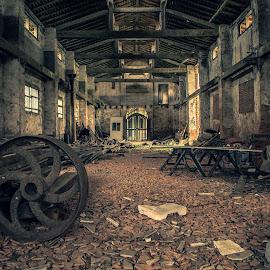 ... by Matheus Dalmazzo - Buildings & Architecture Decaying & Abandoned ( urbex, ipanema, hdr, hangar )