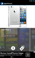 Screenshot of Harga Handphone