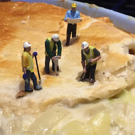 Sarah's pie was a fine example of modern construction by Ashley Lewis - Food & Drink Cooking & Baking