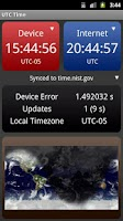Screenshot of UTC Time