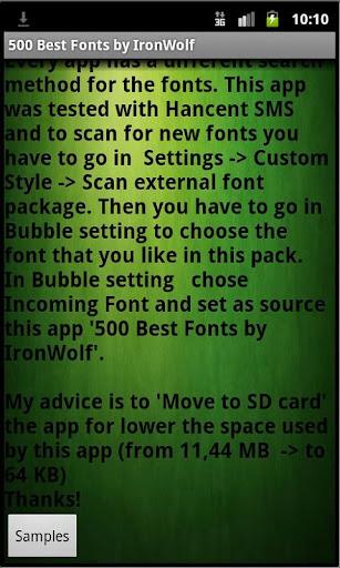 500最佳字體由IronWolf