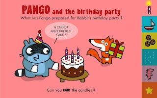 Screenshot of Pango and friends