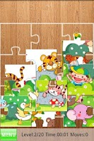 Screenshot of Kids Fill Puzzles