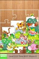 Screenshot of Kids Fill Puzzles