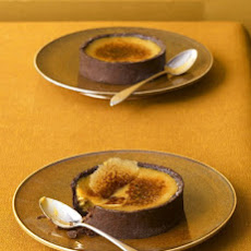 Black Licorice Creme Brulee Tarts