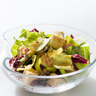 Chicken Salad with Roasted Root Vegetable Vinaigrette
