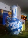 Giant Pot and Teacup