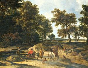 RIJKS: Jacob Isaacksz. van Ruisdael: painting 1682