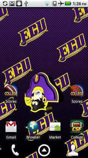 ECU Pirates Live Wallpaper HD