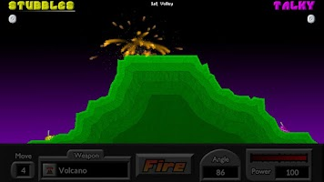 Screenshot of Pocket Tanks