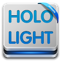 Go Launcher Theme HoloLight icon