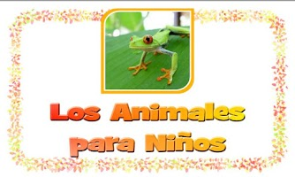 Screenshot of Los Animales para niños FREE