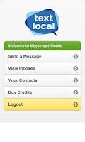 Screenshot of Messenger Mobile