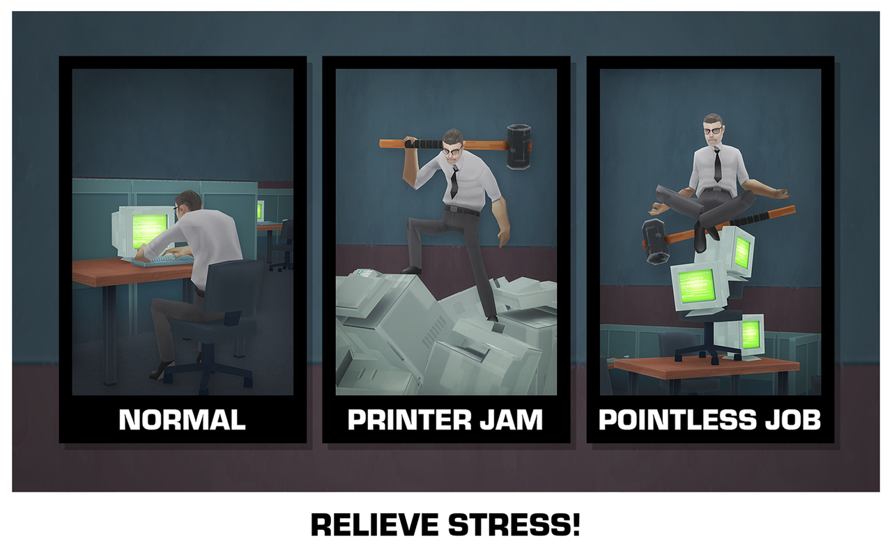 Smash the Office - Stress Fix! Screenshot 13