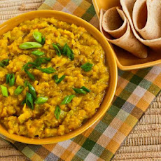 Indian-Style Red Lentils with Ginger (Red Lentil Dal)