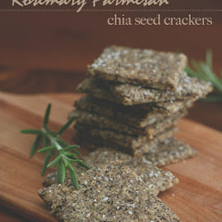 Rosemary Parmesan Chia Seed Crackers – Nut-Free