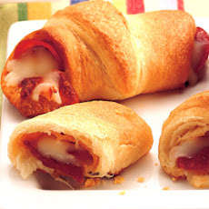 Pepperoni 'n Cheese Crescents