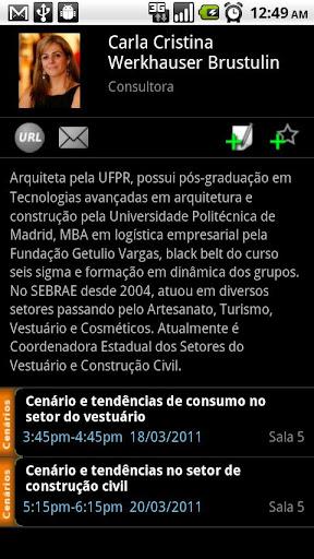 Feira PR 2011 Conference App