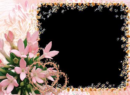 С днем рождения шаблон цветы