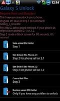 Screenshot of Galaxy_S Unlock
