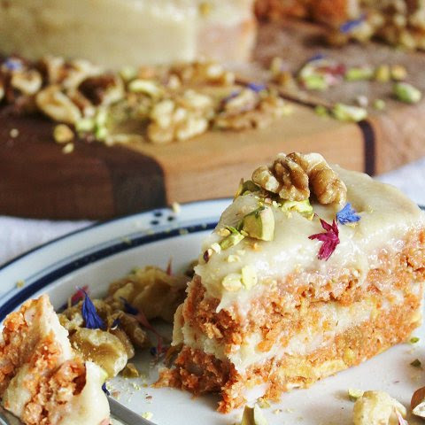 Raw Carrot Cake from Rawsome Vegan Baking