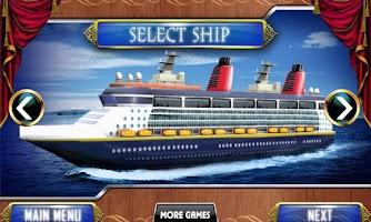 Screenshot of Cruise Ship 3D Simulator