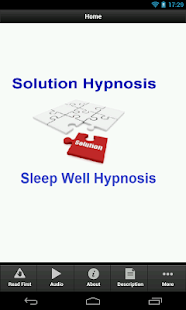 Sleep Well Hypnosis - screenshot