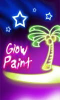 Screenshot of Glow Paint