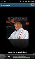 Screenshot of George Strait