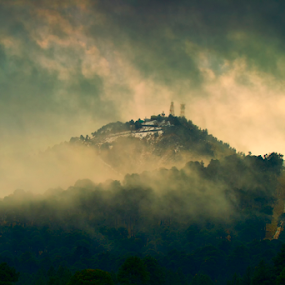 Weather by Cristobal Garciaferro Rubio - Landscapes Weather ( clouds, mountain, popo, fog, mexico )