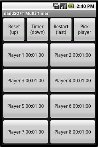 nandSOFT Multi Timer