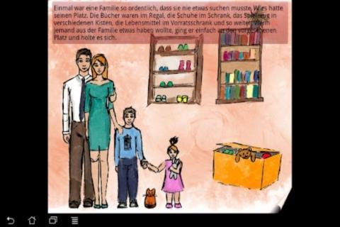 Family story children's book