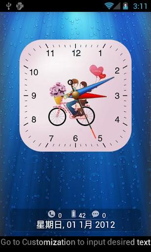Anytouch Clock Pro LockerTheme