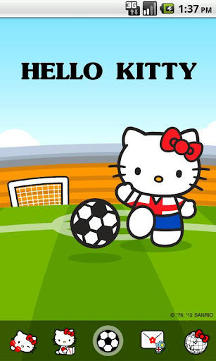 Hello Kitty England Theme