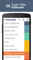 Screenshot of Cdiscount - Shopping mobile