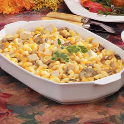 Turkey Macaroni Bake