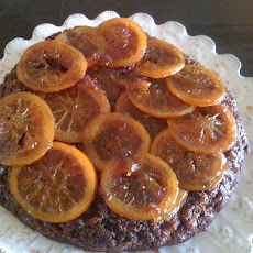 CHOCOLATE ORANGE UPSIDE DOWN CAKE