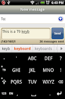 Screenshot of Slovenian for Smart Keyboard