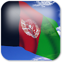 3D Afghanistan Flag + icon