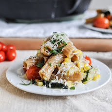 Brown Butter Garden Vegetable Pasta Bake