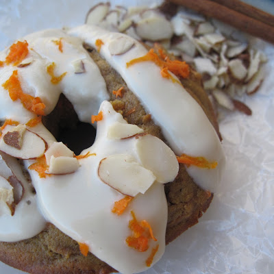 Carrot Cake Donuts (nut free)