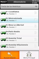 Screenshot of Rutas Transmilenio