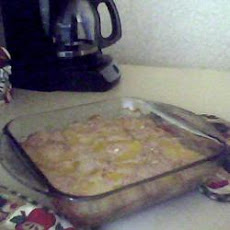 Quick and Easy Peach Cobbler