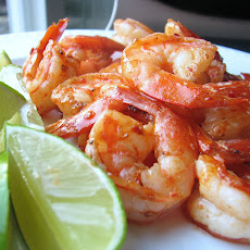 Pan-Seared Shrimp with Chipotle-Lime Glaze