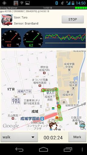 LB Map (脳波測定)