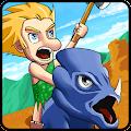 APK Game Dino Island Hunter for BB, BlackBerry
