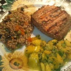 Tandoori Salmon Fillets with Mango Mint Relish