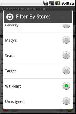 ToMarket Grocery Shopping Pro - screenshot